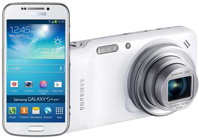 Galaxy SIV with 16-megapixel sensor and 10x optical zoom