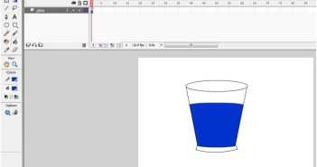 How To Draw A Glass In Macromedia Flash 8